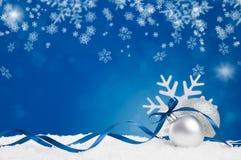 Natale blu Immagine Stock Libera da Diritti