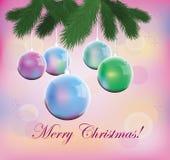 Natale, cartello, Immagini Stock