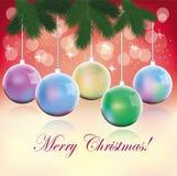 Natale, cartello, Fotografia Stock Libera da Diritti