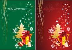 Natale che accoglie Immagine Stock