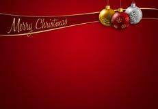 Natale che accoglie Immagini Stock