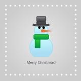 Natale che accoglie Royalty Illustrazione gratis