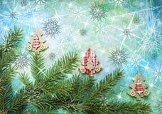 Natale che accoglie Fotografia Stock