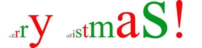 Natale che accoglie nell'effetto 3D Immagini Stock