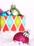 Natale a colori Fotografie Stock Libere da Diritti