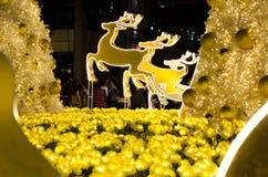 Natale con l'albero immagine stock