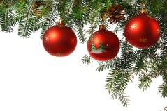 Natale con l'albero di Natale Immagini Stock Libere da Diritti