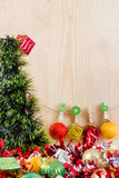 Natale concetto, fondo astratto per il buon anno 2016 Fotografie Stock