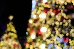 Natale confuso del bokeh per fondo immagini stock