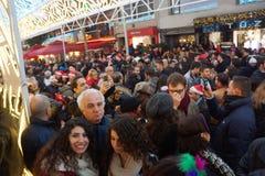 Natale a Costantinopoli, Turchia Immagini Stock