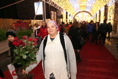 Natale a Costantinopoli, Turchia Immagine Stock Libera da Diritti