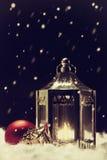 Natale d'annata Fotografie Stock