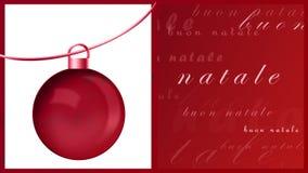 Natale de Buon Images stock