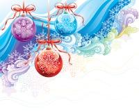 Natale decorato Fotografie Stock Libere da Diritti