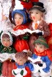 Natale del coro Fotografie Stock Libere da Diritti