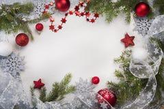 Natale del fondo l'orizzontale Immagine Stock Libera da Diritti