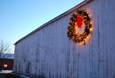 Natale del paese del Connecticut Fotografia Stock