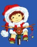 Natale del papà Immagini Stock