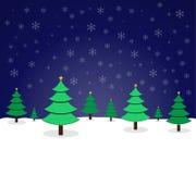 Natale del pino illustrazione vettoriale