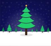 Natale del pino illustrazione di stock