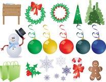 Natale del respingente Fotografia Stock