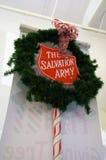 Natale dell'esercito della salvezza Immagini Stock Libere da Diritti