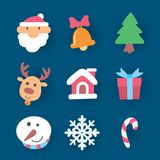 Natale dell'icona, vettore Immagini Stock