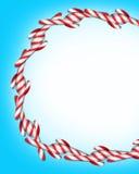 Natale della canna di caramella Fotografia Stock