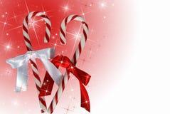 Natale della caramella dura Fotografie Stock