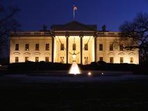 Natale della Casa Bianca Fotografie Stock