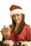Natale della donna immagine stock libera da diritti
