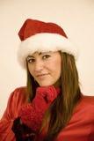 Natale della donna immagini stock libere da diritti