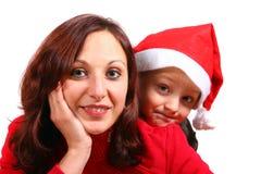 Natale della famiglia @ Immagine Stock Libera da Diritti