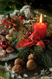 Natale della foto della caratteristica Immagine Stock