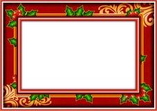 Natale della foto della pagina Fotografia Stock