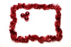 Natale della pagina Fotografie Stock