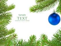 Natale della sfera Fotografie Stock