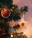 Natale della stella Fotografie Stock