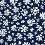 Natale di bellezza e fondo astratti del nuovo anno con neve ed i fiocchi di neve Illustrazione di vettore EPS10 illustrazione di stock