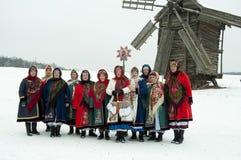 Natale di festa Immagine Stock