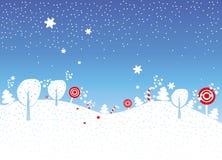 Natale di festa fotografia stock