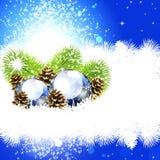 Natale di lusso del fondo Fotografie Stock Libere da Diritti