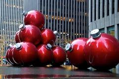 Natale di New York fotografia stock libera da diritti