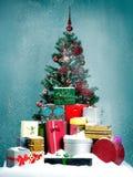 Natale di Snowy Fotografia Stock Libera da Diritti