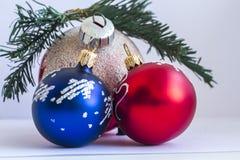 Natale di vetro Fotografia Stock