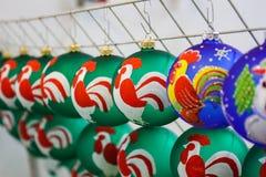 Natale di vetro Immagini Stock