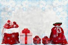 Natale e celebrazione di nuovo anno Fotografia Stock