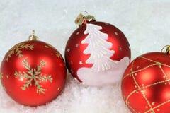 Natale e decorazione di feste Fotografia Stock Libera da Diritti