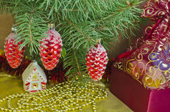 Natale e nuovo anno Fotografie Stock