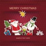 Natale e nuovo anno. Immagine Stock Libera da Diritti